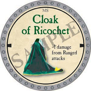 Cloak of Ricochet - 2020 (Platinum)