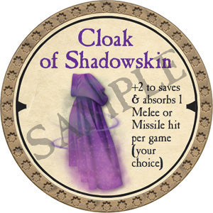 Cloak of Shadowskin - 2019 (Gold)