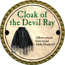 Cloak of the Devil Ray - 2011 (Gold)