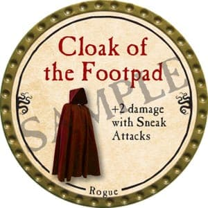 Cloak of the Footpad - 2016 (Gold)