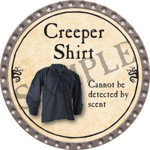 Creeper Shirt - 2016 (Platinum)