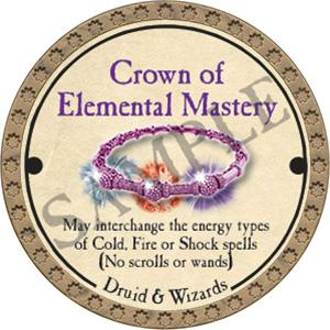 Crown of Elemental Mastery - 2017 (Gold) - C3