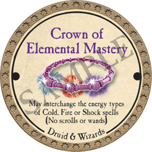 Crown of Elemental Mastery - 2017 (Gold)