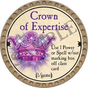 Crown of Expertise - 2018 (Gold) - C12