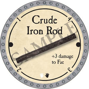 Crude Iron Rod - 2017 (Platinum)