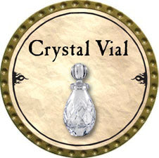 Crystal Vial - 2010 (Gold) - C37