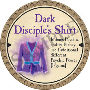 Dark Disciple's Shirt - 2019 (Gold)