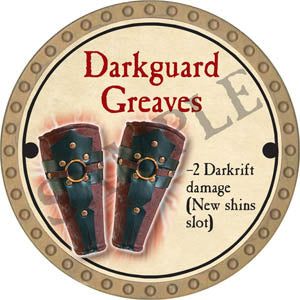 Darkguard Greaves - 2017 (Gold) - C37