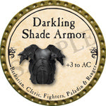 Darkling Shade Armor - 2016 (Gold)