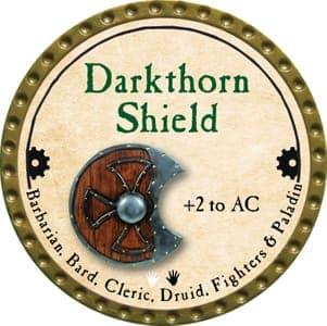 Darkthorn Shield - 2013 (Gold)