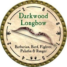 Darkwood Longbow - 2009 (Gold)