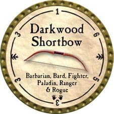 Darkwood Shortbow - 2009 (Gold)