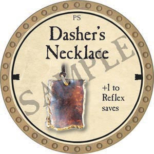Dasher's Necklace - 2020 (Gold)