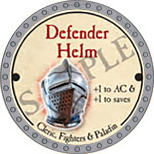 Defender Helm - 2017 (Platinum)