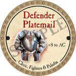 Defender Platemail - 2017 (Gold)