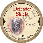 Defender Shield - 2017 (Gold)