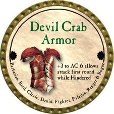 Devil Crab Armor - 2011 (Gold)
