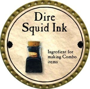 Dire Squid Ink - 2011 (Gold) - C37