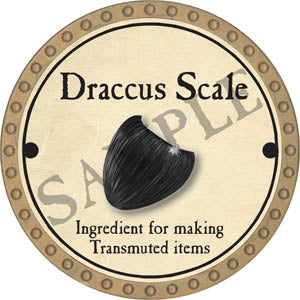 Draccus Scale - 2017 (Gold) - C44