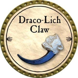 Draco-Lich Claw - 2012 (Gold) - C37