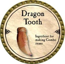 Dragon Tooth - 2010 (Gold) - C37
