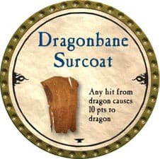 Dragonbane Surcoat - 2010 (Gold)