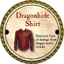 Dragonhide Shirt - 2011 (Gold) - C26