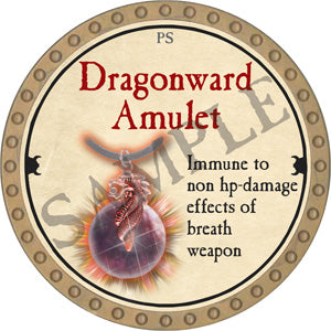 Dragonward Amulet - 2018 (Gold)