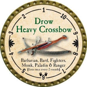 Drow Heavy Crossbow - 2015 (Gold)