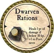 Dwarven Rations - 2007 (Gold)