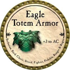 Eagle Totem Armor - 2009 (Gold)