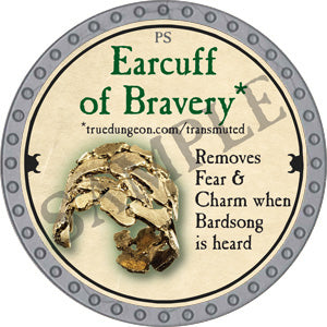 Earcuff of Bravery - 2018 (Platinum)