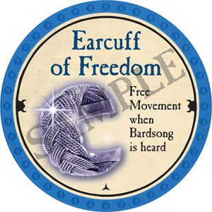 Earcuff of Freedom - 2018 (Light Blue)