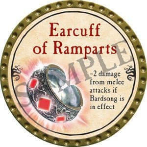 Earcuff of Ramparts - 2016 (Gold)