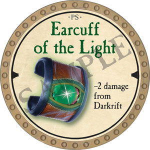 Earcuff of the Light - 2019 (Gold) - C22