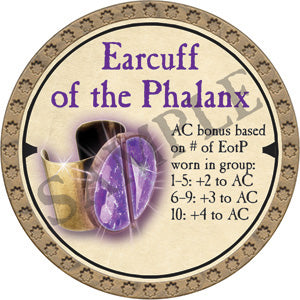 Earcuff of the Phalanx - 2019 (Gold)