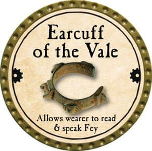 Earcuff of the Vale - 2013 (Gold)