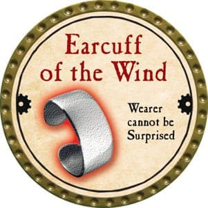 Earcuff of the Wind - 2013 (Gold) - C22