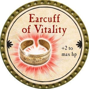Earcuff of Vitality - 2015 (Gold) - C26