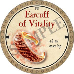 Earcuff of Vitality - 2020 (Gold)