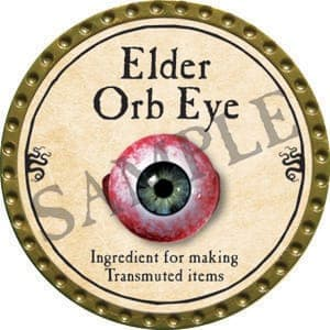 Elder Orb Eye - 2016 (Gold) - C37