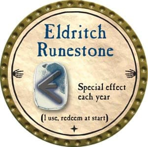 Eldritch Runestone - 2012 (Gold) - C26