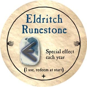 Eldritch Runestone - 2012 (Gold) - C12