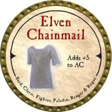 Elven Chainmail - 2007 (Gold)