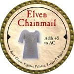 Elven Chainmail - 2008 (Gold) - C37