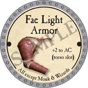 Fae Light Armor - 2017 (Platinum)