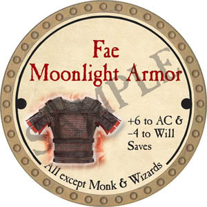 Fae Moonlight Armor - 2017 (Gold)