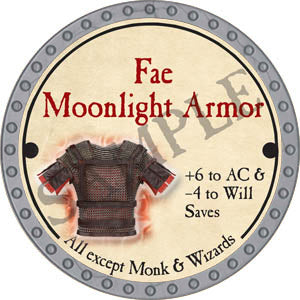 Fae Moonlight Armor - 2017 (Platinum)