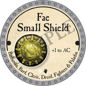 Fae Small Shield - 2017 (Platinum)