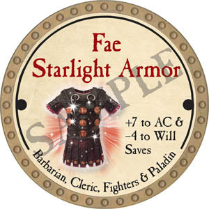 Fae Starlight Armor - 2017 (Gold)